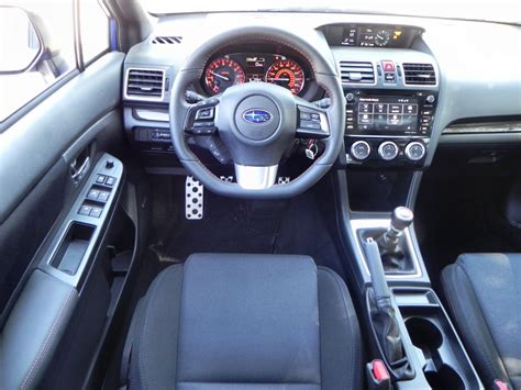 subaru wrx interior 2016 2016 subaru wrx and sti rally madness
