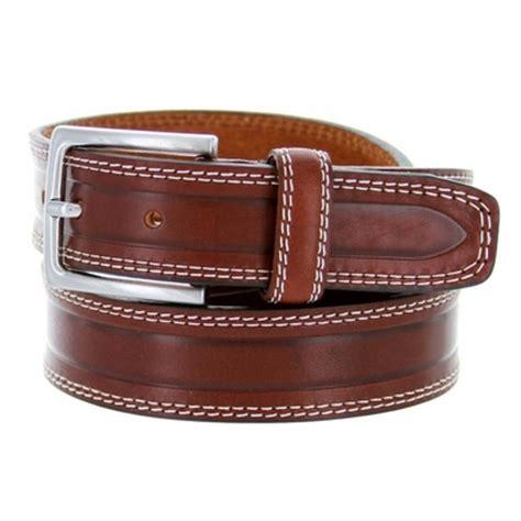 s074/35 men's italian leather dress casual belt 1 3/8