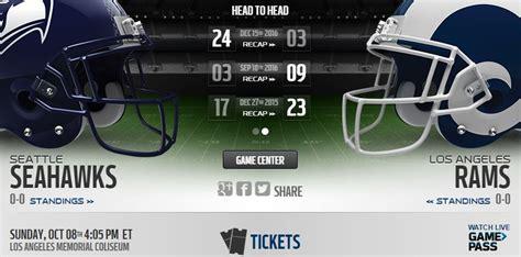live seahawks vs rams seahawks vs rams live info preview