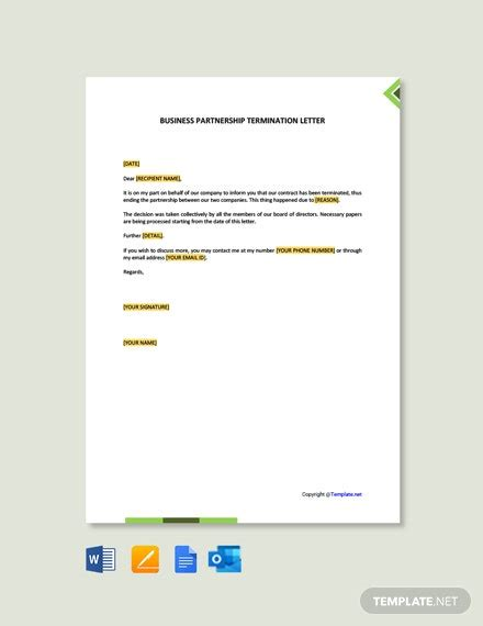 media partnership proposal letter word google