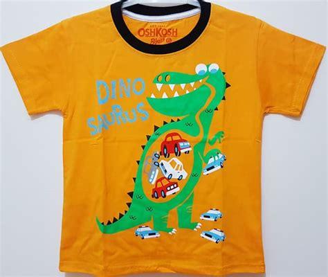 Kaos Anak Dino jual kaos anak size 1 6 oshkosh dino kuning baju anak