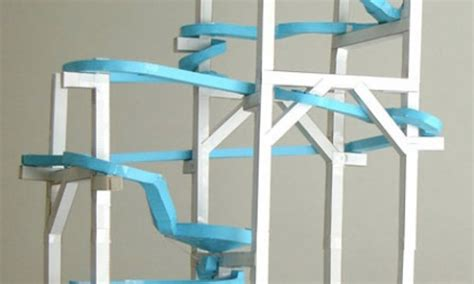 How To Make A Paper Marble Roller Coaster - paper roller coasters district of columbia library