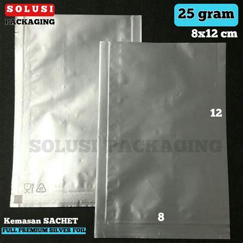 Kemasan Plastik Sachet Jual Plastik Kemasan Sachet Foil Premium Silver A 25