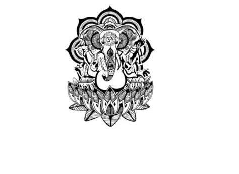 ganesha temporary tattoo products henna and ganesha on pinterest