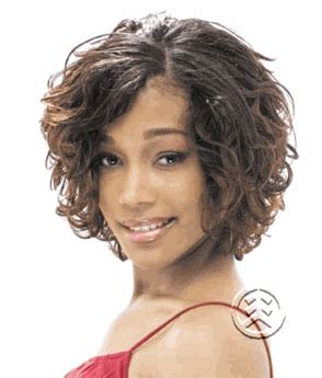 milky way 100 human hair short cut weave afro tempest 5 milky way short cut series 3pc classic wave hair weave