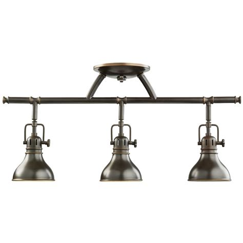 Ideas For Bronze Track Lighting Design Kichler Adjustable Rail Light For Ceiling Or Wall Mount 7050oz Destination Lighting