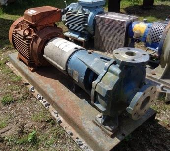ingersoll dresser pumps uk used 3 1 quot x 2 0 quot 312 gpm ingersoll dresser 316l duplex