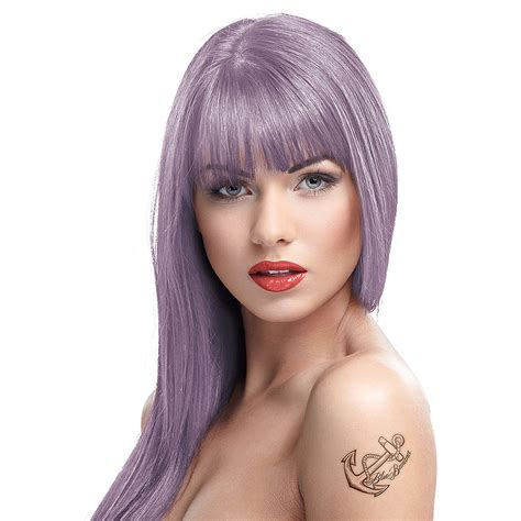 purple permanent hair color color semi permanent mauve hair dye 100ml
