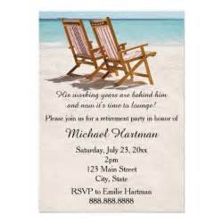 chairs retirement invitations