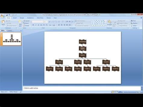 cara membuat struktur organisasi di microsoft visio 2007 how to make organizational chart learn powerpoint easily