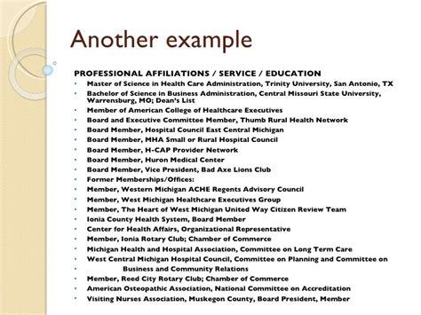 affiliation in resume sle affiliation in resume s career eportfolio traditional