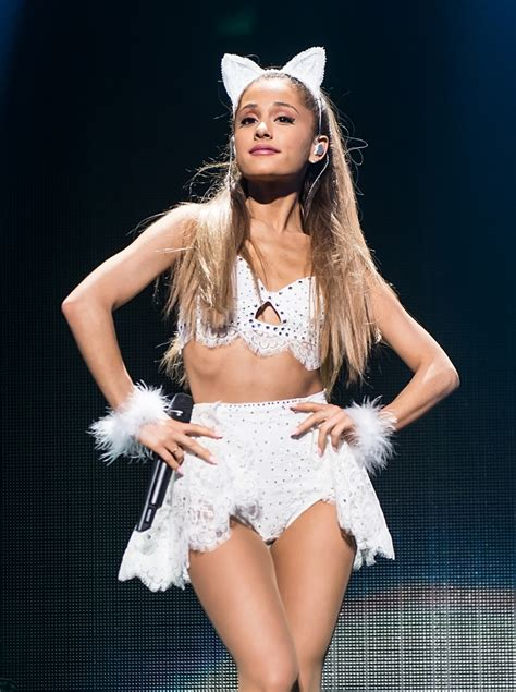 ariana grande  sexy  jingle ball   white
