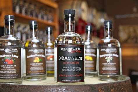 Moon Shine review corner distillery moonshine drink spirits