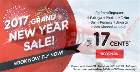 airasia grand sale airasia 2017 grand new year sale