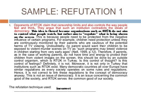 Refutation Essay Topics by Refutation Essay Exle Argumentative Essays Exles Persuasive Essay Exles Posting My