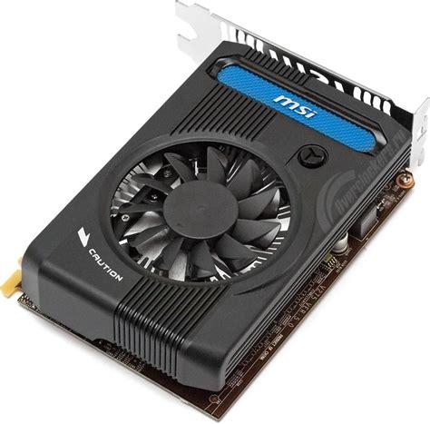 Vga Msi N640 1gd3 by тестируем разные варианты Geforce Gt 640 Msi N640 1gd3