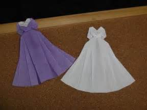 how to make an origami dress 25 best ideas about origami dress on diy