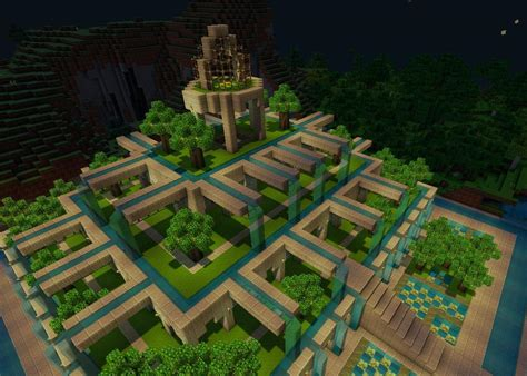 How To Make A Garden In Minecraft by Pretty Gardens Minecraft Project