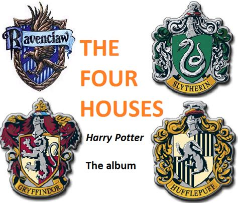 The Four Houses (Wrock band)   Harry Potter Wiki