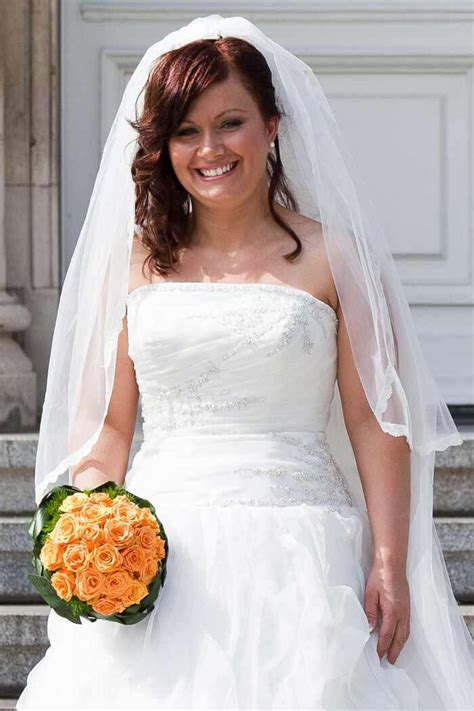 Offene Brautfrisuren Mit Schleier by Brautfrisur Offen Mit Schleier Hochzeitsportal24