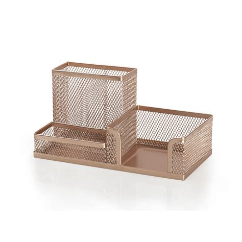 rose gold desk accessories wilko rose golden desk tidy at wilko com