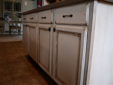 Painting Stained Kitchen Cabinets | gray gel stain cabinets