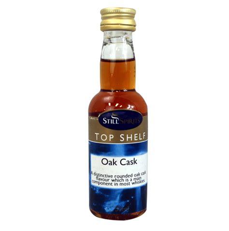top shelf oak cask essence