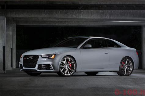 Audi Rs5 0 100 by Audi Rs5 Coupe Sport Edition 75 Esemplari Per