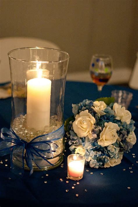 the gallery for gt denim and diamonds centerpieces