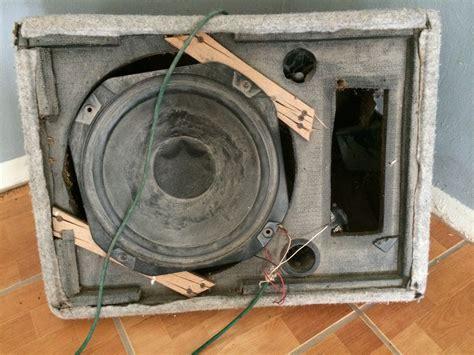 broken speaker  stock photo public domain pictures