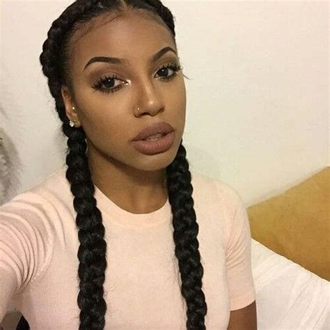 black french braids 50 lovely black hairstyles for african american women