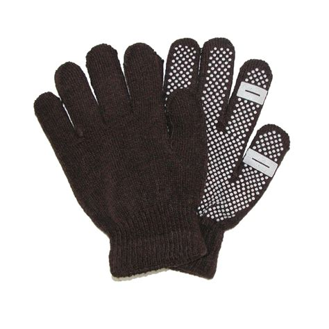womens knit gloves womens grip knit texting winter gloves by ctm beltoutlet