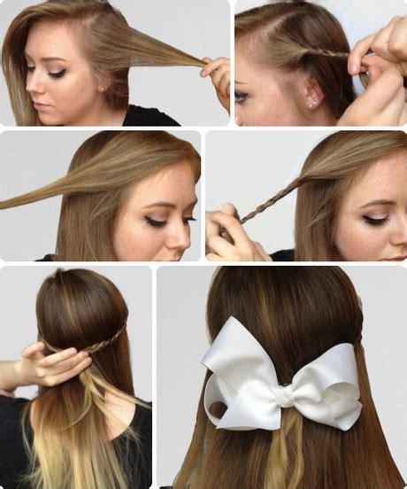 easy hairstyles for school beginners easy hairstyles for beginners