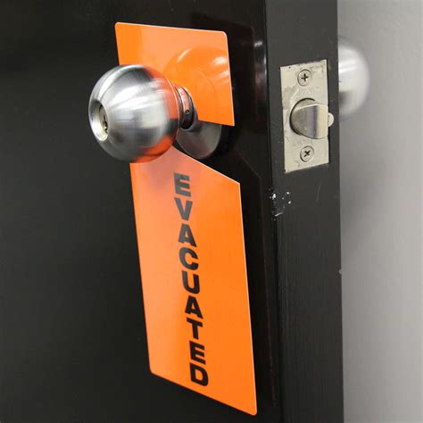 Door Knob Tags by Occupied Plastic Door Knob Hanger Tag Hang Tags Sku Tg