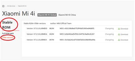 Handphone Xiaomi Semua Tipe cara downgrade rom miui xiaomi dengan mudah semua tipe klinik handphone