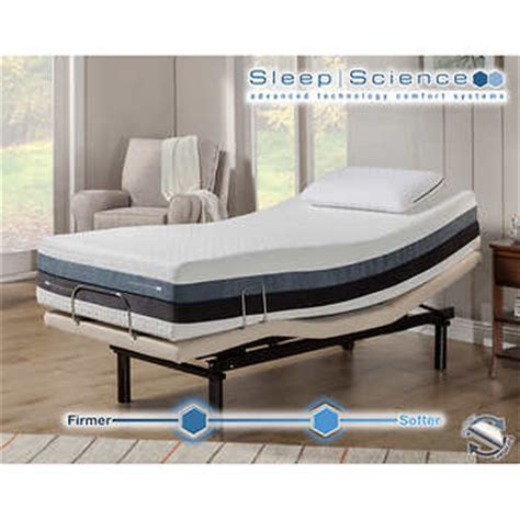sleep science adjustable bed sleep science iflip sonoma 12 twin xl memory foam