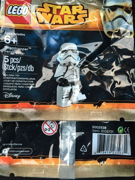 Murah Stormtrooper Sergeant Lego Polybag lego wars forum from bricks to bothans view topic stormtrooper sergeant polybag promo