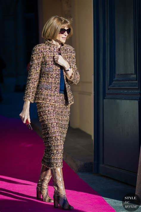 Wintour Wardrobe by Haute Couture 2016 Style Wintour
