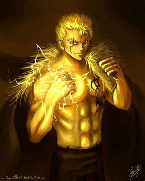 yellow laxus by jeannette11 on deviantart