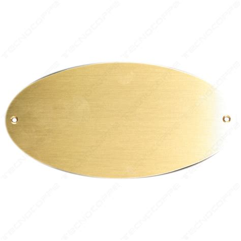 targhe porta targa ottone 052g