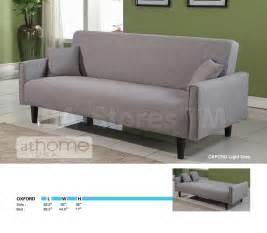 hellgraues sofa oxford contemporary sofa bed in light grey athomeusa