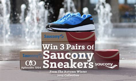 Win Pairs Of Lucky Brand by Win 3 Pairs Of Saucony Sneakers With Aphrodite