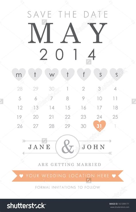 save the date calendar template calendar save the date template calendar templates