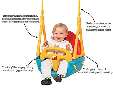 baby outside swing seat edu play baby outdoor swing seat 3 in 1 for