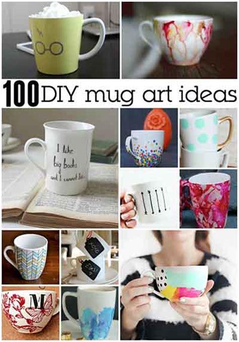amazing diy coffee mugs diy craft projects 100 awesome diy coffee mug art creations lil moo creations