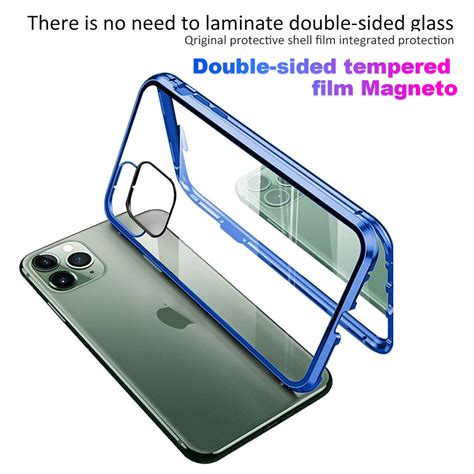 case  iphone  pro max  pro magnetic adsorption