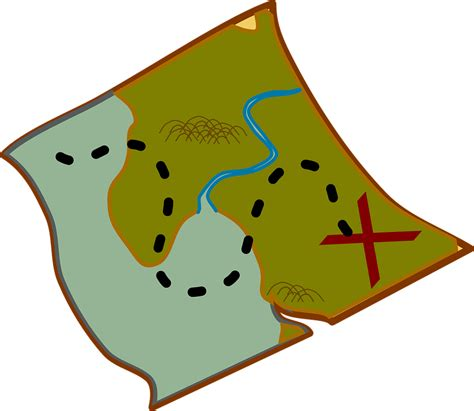 map graphics free free vector graphic map treasure pirate free image on