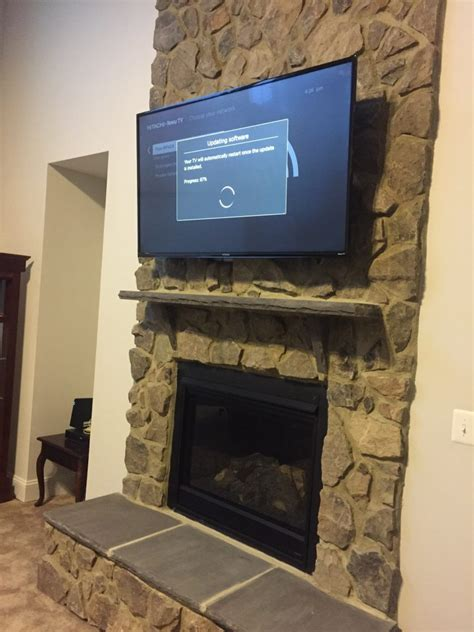 tv mount for brick fireplace mounting a tv on brick fireplaces the do s don ts