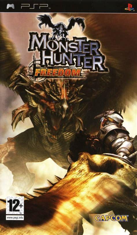 theme psp monster hunter monster hunter freedom box shot for psp gamefaqs