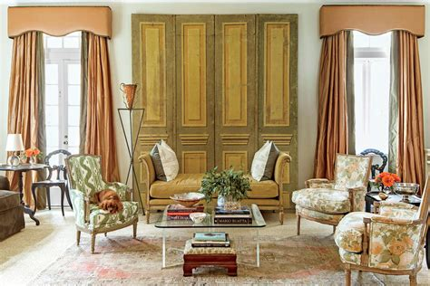 new orleans style living room the living room classically new orleans home southern living